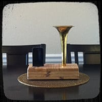 Acoustic iPhone Speaker Dock Utilizing a Salvaged by ReAcoustic
