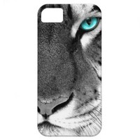 Black White Tiger iPhone 5 Covers from Zazzle.com