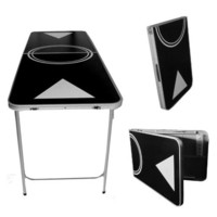 Beer Pong Table Black - Lightweight