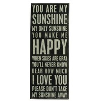 Amazon.com: Primitives By Kathy Box Sign, You Are My Sunshine: Home & Kitchen