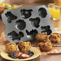 Nordic Ware  Zoo Animal Muffin Pan from Seventh Avenue