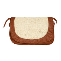 Crochet Crossbody Bag | Shop Accessories at Wet Seal