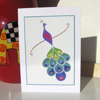 Greeting Card - The Paper Peacock | Luulla