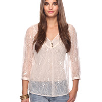 Romantic Lace Top | FOREVER21 - 2087534055