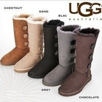 Fashion Womens UGGs Classic Tall Lined Suede Boots size 5,6,7,8,9,10,11