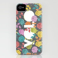//  YOU ONLY LIVE ONCE  iPhone Case by Bianca Green | Society6