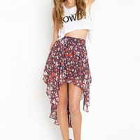 Posy Tail Skirt in  What's New at Nasty Gal