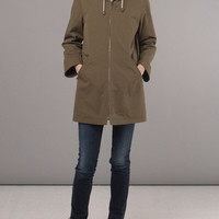 Frances May - A.P.C. Khaki Girl Parka
