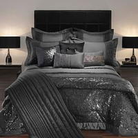 Black 'Carita' bed linen at debenhams.com