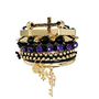 River Island Victoriana Spike And Friendship Bracelet Pack at asos.com