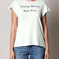 Young Hearts Run Free T-shirt | Wildfox | Matchesfashion.com