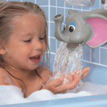 Baby Bath Faucet Spout Cover Elephant From