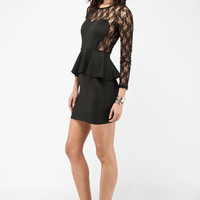 Sass and Lace Dress in Black :: tobi