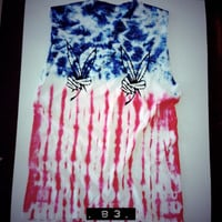 America Tank by OFIVY on Etsy