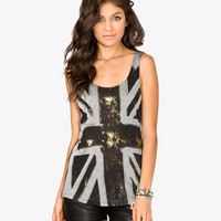 Metallic British Flag Graphic Tank | FOREVER 21 - 2035296698