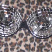 Disco Mirror Multiway/Strapless Bra Any Size A-F Cups Rah Rah So GaGa