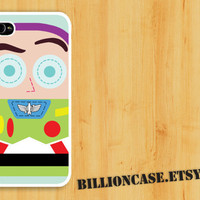 Buzz Lightyear Toy Story Movie Parody -  iPhone 5 4 / 4s Galaxy Case Hard Plastic Case Rubber Case