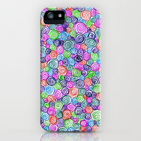 Do the Twist (bright) iPhone Case by Shawn Terry King | Society6