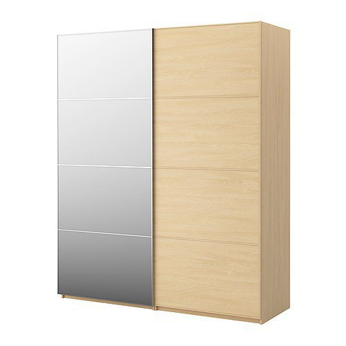 Pax wardrobe with sliding doors pax from ikea for Armoire malm
