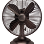 Hunter Fan 90406 12&amp;quot; Oscillating Desk Fan - oil rubbed bronze Color