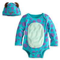 Sulley Disney Cuddly Bodysuit Set for Baby - Personalizable | Disney Store