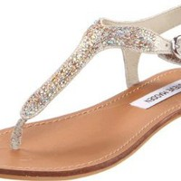 Amazon.com: Steve Madden Women's Beaminng Sandal: Steve Madden: Shoes