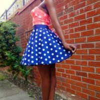 Pin-Up Rock & Roll Rockabilly Full Circle Skirt