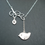 personalized initial branch and mod bird lariat  1 by Lana0Crystal