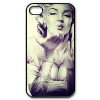 Amazon.com: Popular Marilyn Monroe New Style Durable Iphone 4,4s Case Hard iPhone Cover Case: Cell Phones &amp; Accessories