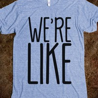 Couples shirt: We're (Cool) Like (That) - Urban Native