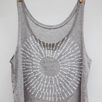 Camp Brand  BULLS EYE CROP TANK