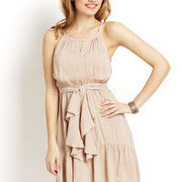 ideeli | YA LOS ANGELES High-Low Ruffle Hem Dress