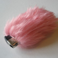 Cute Fluffy Bic Cigarette Lighter Cover Case Faux Fur by Kerenika