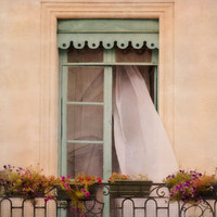 Parisian Balcony Photography, Art Print | Luulla