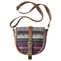 Mossimo Supply Co. Buckle Crossbody Handbag - Multicolor