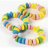 Stretchable Candy Jewelry Bracelets (48 pcs)