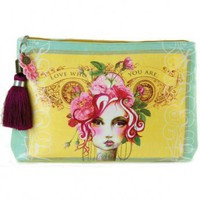 Wake Up Frankie - Rose Large Accessory Pouch - Rose Large Accessory Pouch