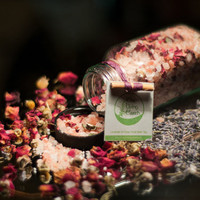 SALE Floral Bath Tea Lavender &amp; Rose trial size by lebotanicals