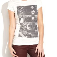 Rock Girl Print T-Shirt