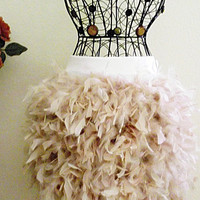 Adult/Teen Size Feathered Marabou Skirt - Melissa Jane Boutique