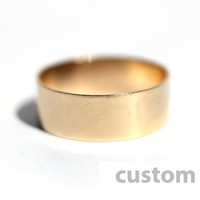 Supermarket: Gold Bar Ring - Custom from The Urban Smith