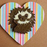 Lovestruck Hedgehog Magnet Card