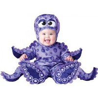 Amazon.com: Tiny Tentacles Octopus Infant / Toddler Costume: Clothing