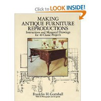 Making Antique Furniture Reproductions: Instructions and Measured Drawings for 40 Classic Projects (Dover Woodworking): Franklin H. Gottshall: 9780486279763: Amazon.com: Books