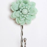 Beaded Flower Hook