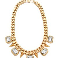 Juicy Couture Rectangular Stone Necklace | SHOPBOP