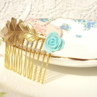 Bliss - Oak Leaf Hair Comb | Luulla