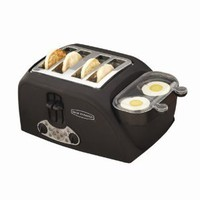 Amazon.com: Back to Basics TEM4500 4-Slot Egg-and-Muffin Toaster: Kitchen & Dining