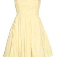 Buttercup Strapless Party Dress w/ Tulle