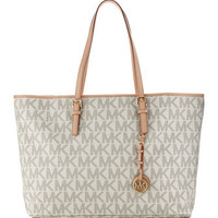 MICHAEL Michael Kors  Jet Set Logo Macbook Travel Tote - Michael Kors